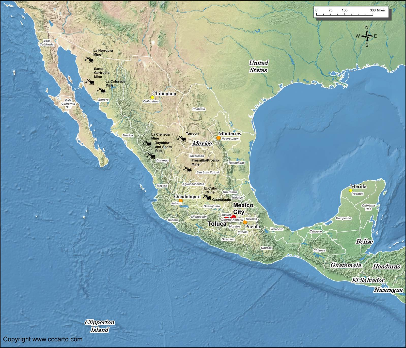 mexico gold mines