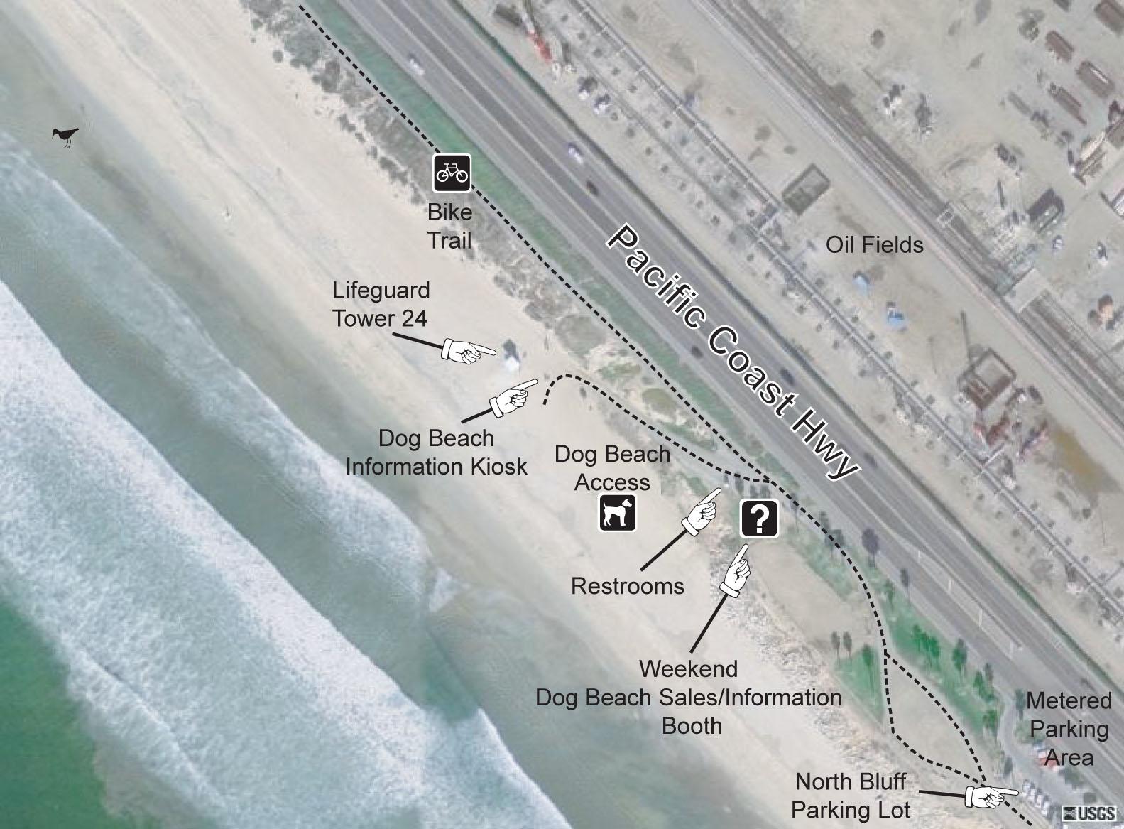 HB Dog Beach Access