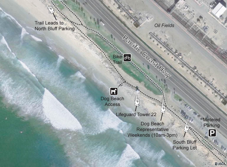 HB Central Dog Beach Access