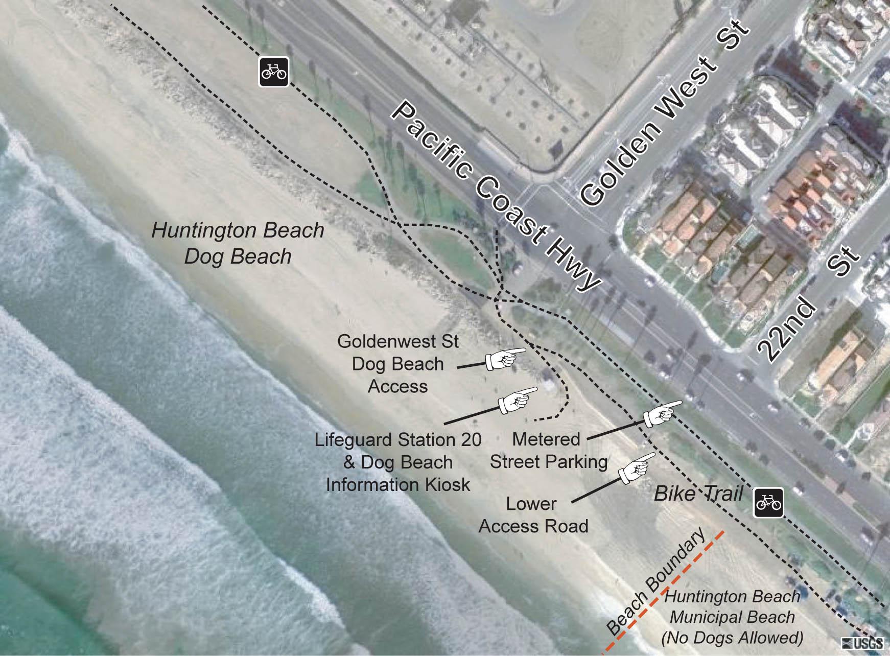 HB Dog Beach Southern Access