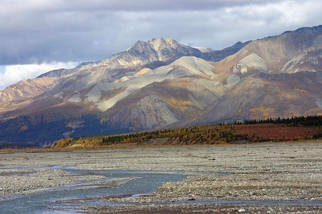 Alaska River Plain