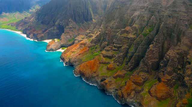 Napali Coast from Air