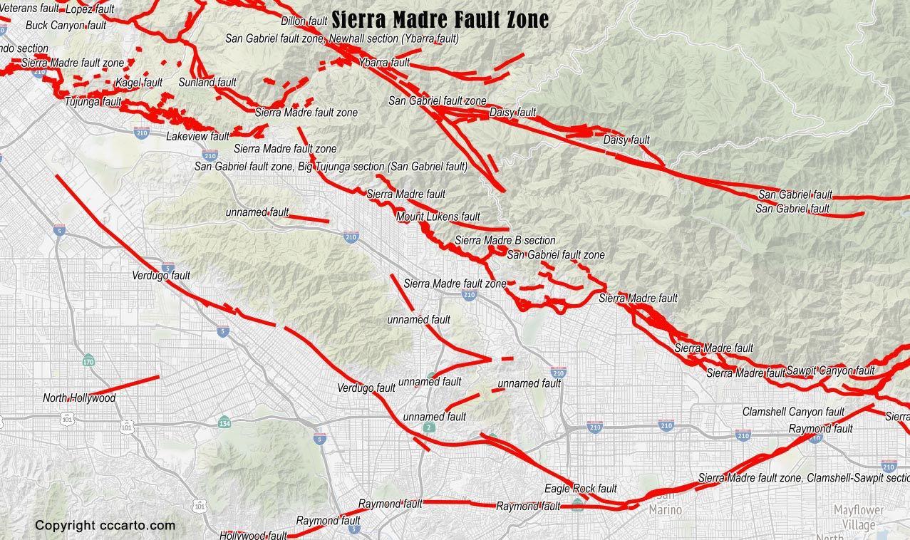 Sierra Madre Fault Zone
