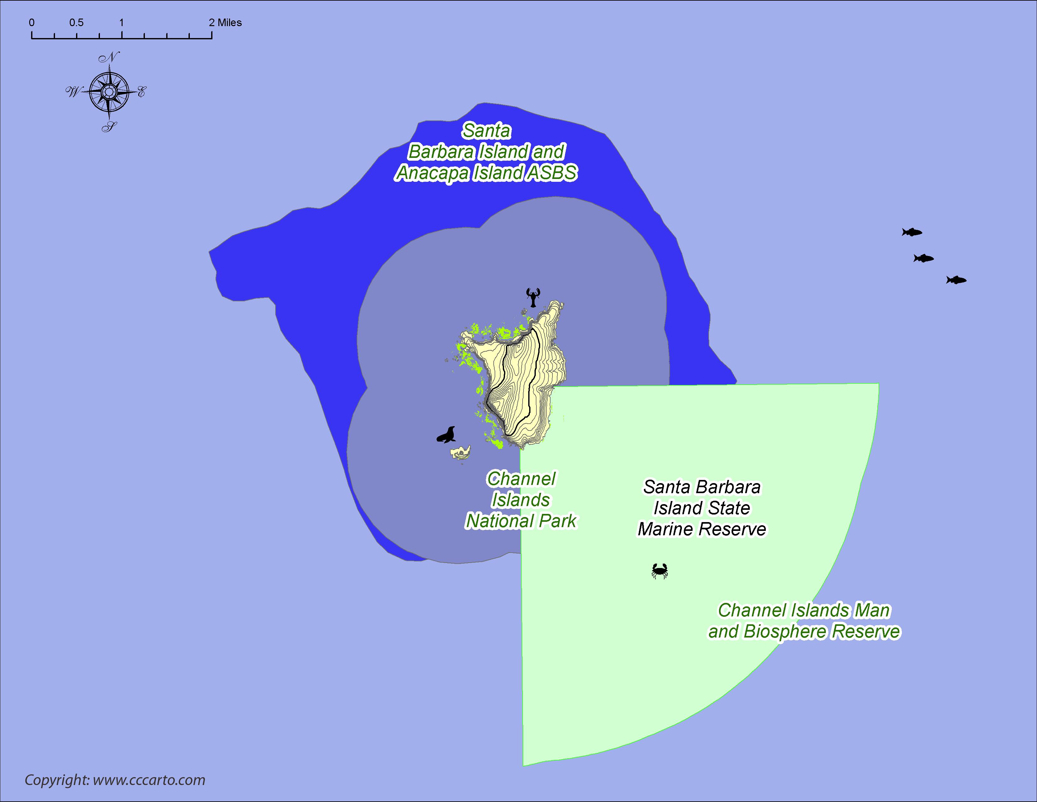 Santa Barbara Island Reserves