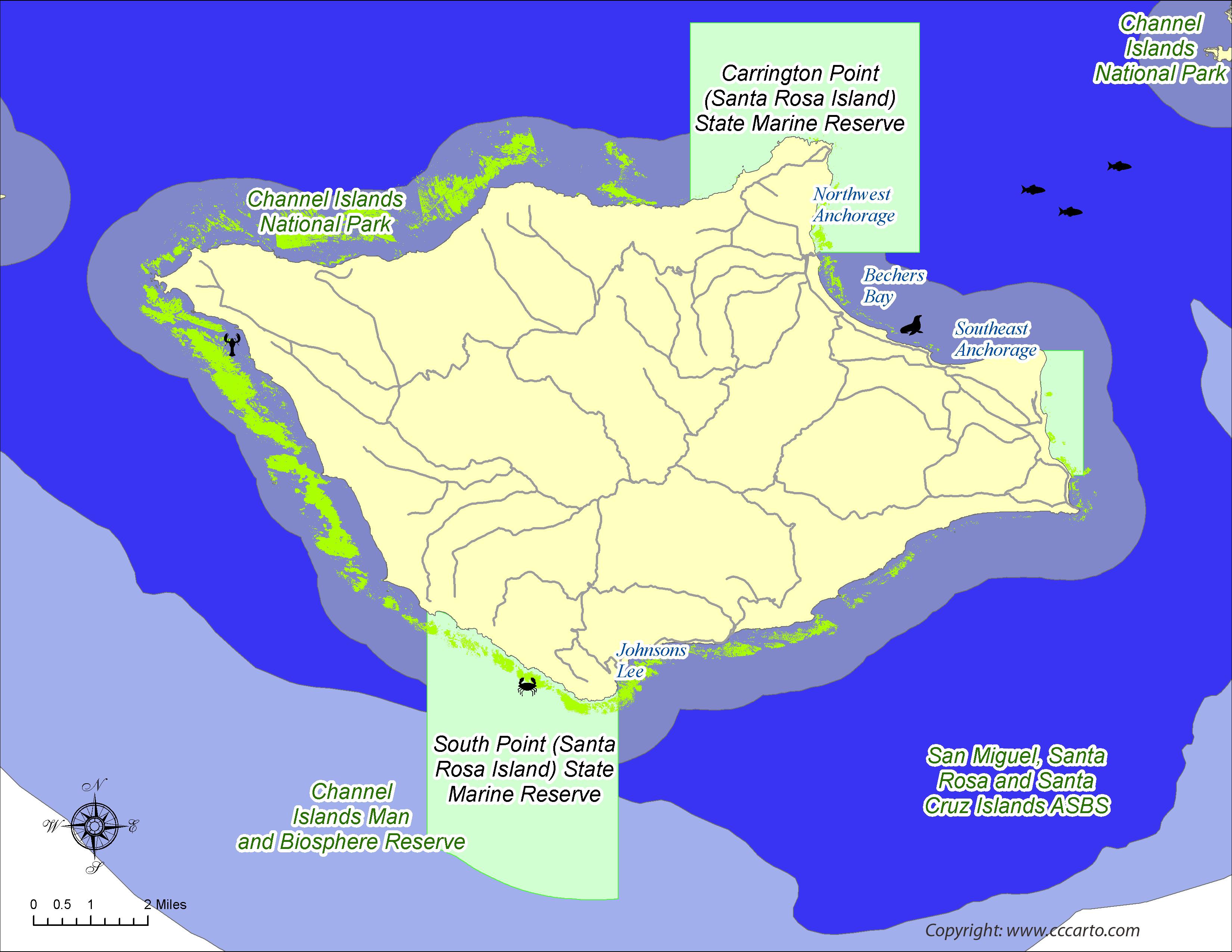 Santa Rosa Island Reserves