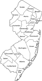 Image Result For Map Ocean County Nj