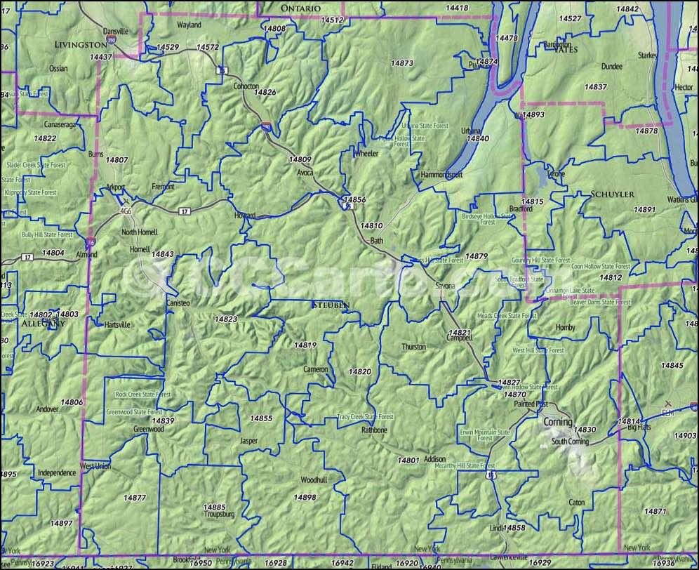 Wyoming County Ny Property Maps