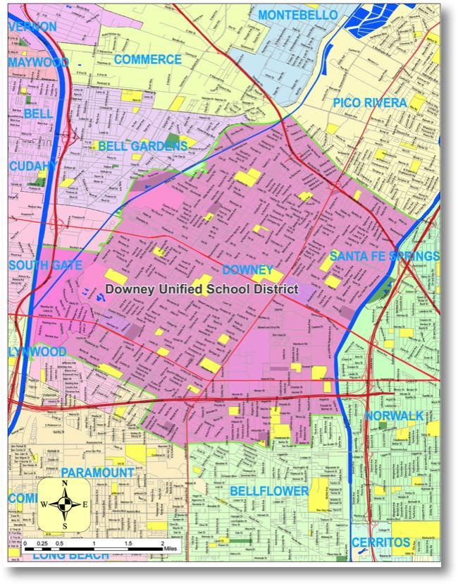 Order Custom School District Maps. Digital Unified School ...