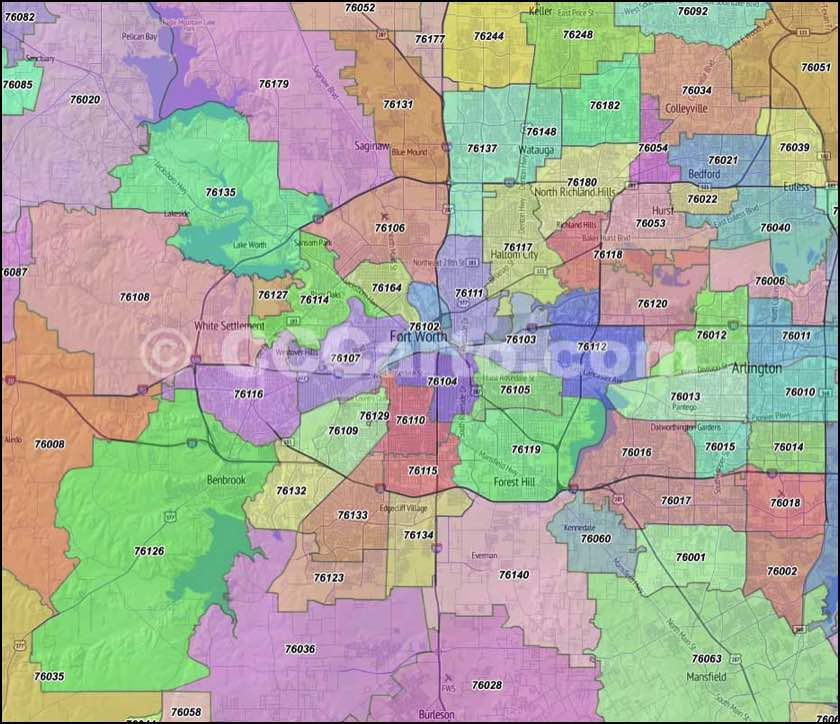 Fort Worth, TX Zip Codes - Tarrant County Zip Code Boundary Map on map of zip codes in charlotte, map of zip codes in austin, map of zip codes in el paso, map of zip codes in nevada, map of zip codes in tennessee, map of zip codes in nashville, map of zip codes in oklahoma, map of zip codes in louisiana, map of zip codes in plano, map of zip codes in maryland, map of zip codes in united states, map of zip codes in new jersey, map of zip codes in minnesota, map of zip codes in kentucky, map of zip codes in washington, map of zip codes in massachusetts, map of zip codes in little rock, map of zip codes in kansas, map of zip codes in iowa, map of zip codes in denver,